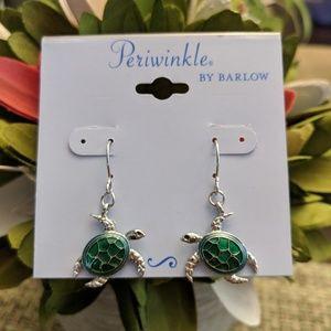 Jewelry - Sea Turtle Earrings NWT